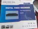 DVR recorder pt camere video de supraveghere nou la cutie