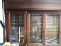 Ferestre lemn,lemn placat cu aluminiu,cu oblon/roleta lemn