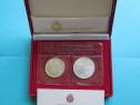 Set monede comemorative argint - san marino, 1990 - fdc