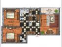 Apartament 3 camere, 69 mp. Penny, Drumul Fermei