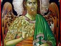 Copie a icoanei Sfântul Ioan Botezătorul din Athos