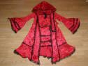 Costum carnaval serbare scufita rosie pentru copii 11-12 ani