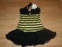 Costum carnaval serbare albina pentru adulti marime XS