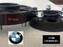 Flanse distantiere BMW 30 mm prindere Dubla Prezoane Incluse