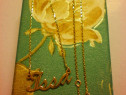 Lantisor aur 14 k,personalizat ,cu nume