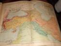 Atlas geografic/istoric scolar 1928 de colectie de F. W. Put