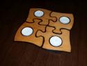 Suport puzzle pentru lumanari de ambient