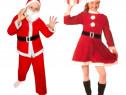 Costume noi Moș Crăciun ptr. fete si baieți ( 6 - 9 ani).