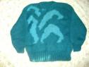 Pulover handmade din lana