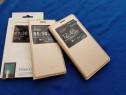 Husa S-view activa Samsung Galaxy A5 si A7 2015 Noua,piele