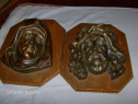 Set deosebit chip maria si iisus bronz