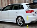 Prelungire tuning sport bara spate Audi A3 8P Sportback v2
