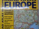 """COLECTIE: Atlas """"Road Atlas Europe"""" ilustrat color"""
