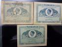 3 Bucati 100 lei,1945