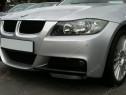 Prelungire extensie lip buza bara fata BMW E90 pt bara pache