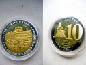 A191-UNC-Medalia specimen moneda 10 eurocent 2010 Zidul B..