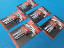 Set (9buc) chei imbus scurte - chrome vanadium ( 1.5-10 mm)
