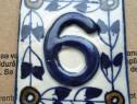 Numere vintage pentru casa sau apartament 6/9 si 368