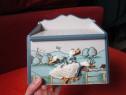 Vechiul Paris-Cufar/Cutie/Ladita vintage -cadou inedit