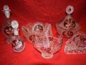 Superb set din cristal format din 6 piese