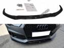 Prelungire splitter bara fata Audi RS7 Facelift 14-17 v4
