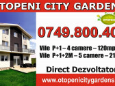 Vile 4 camere Otopeni City Gardens, P+1, 120mp, an 2019