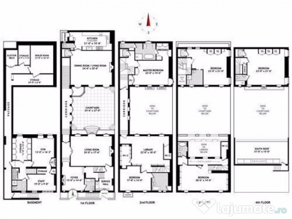 Releveu apartament garsoniera pentru banca 200 ron for Ron lee homes floor plans