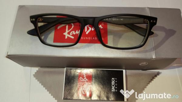 Rame ochelari de vedere RAY BAN 8145 negru mat, 115 ron - Lajumate.ro 8f090ca2bf9e