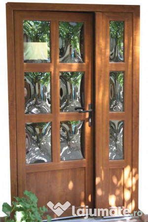 Termopane geamuri si u i pvc 300 ron - Modele usi termopan exterior duble ...