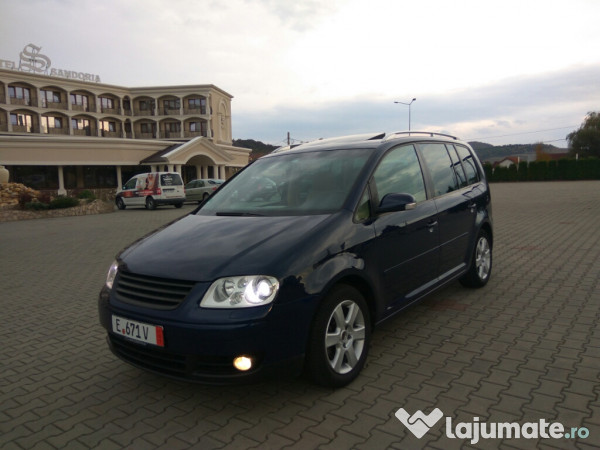 vw touran 2005 7 locuri 2 0 tdi 140 cp xenon trapa zol eur. Black Bedroom Furniture Sets. Home Design Ideas