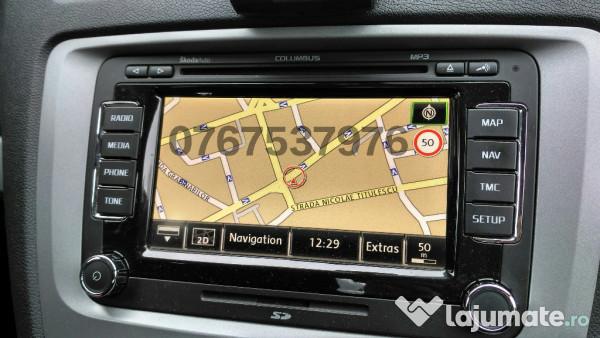 Harta Navigatie Skoda Columbus -Octavia,Superb -Romania 2019, 50 ron