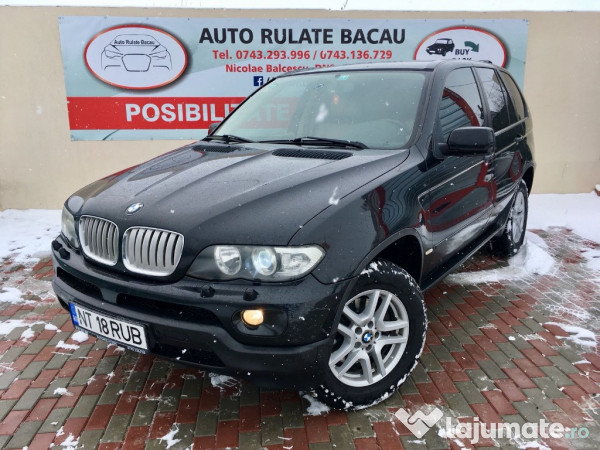 bmw x5 3 0 diesel 2006 piele crem euro 4 eur. Black Bedroom Furniture Sets. Home Design Ideas