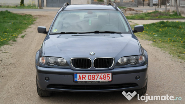 bmw e46 320d touring 2 0 diesel an 2003 eur. Black Bedroom Furniture Sets. Home Design Ideas
