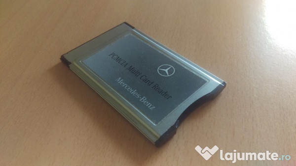 Pcmcia original mercedes multi card reader mercedes for Pcmcia card for mercedes benz