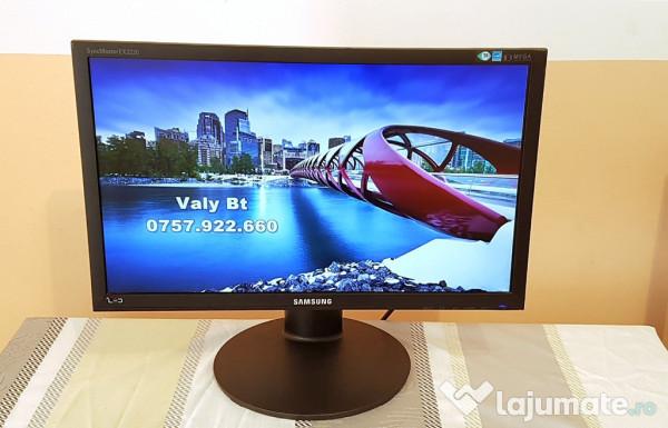 monitor led samsung ex2220 22 inch 56 cm poze reale 145 ron. Black Bedroom Furniture Sets. Home Design Ideas