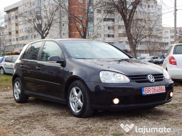 vw golf 5 1 9 tdi 110 cp 2005 euro 4 eur. Black Bedroom Furniture Sets. Home Design Ideas