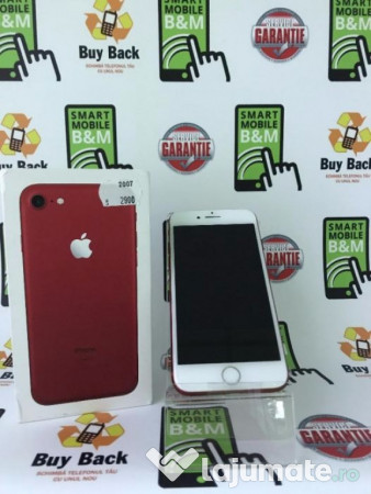 iphone 7 red 128 gb nou neverlocked factura garantie ron. Black Bedroom Furniture Sets. Home Design Ideas