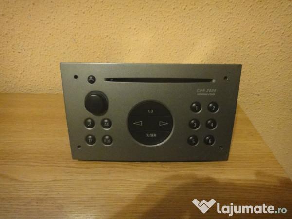 radio cd oem opel vectra c corsa siemens cdr2005 350 ron. Black Bedroom Furniture Sets. Home Design Ideas