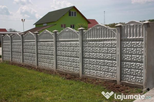 gard beton cu fier armat 110 ron. Black Bedroom Furniture Sets. Home Design Ideas