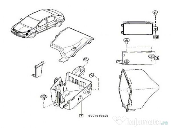 Cutie Sigurante Motor Dacia Logan Origine 60 Ron