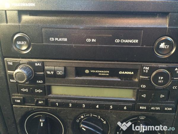 cd player radio casetofon gamma vw golf 4 bora 200 ron. Black Bedroom Furniture Sets. Home Design Ideas