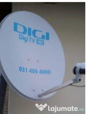 Antena Digi Satelit Receiver Telecomanda 250 Lei Lajumate Ro