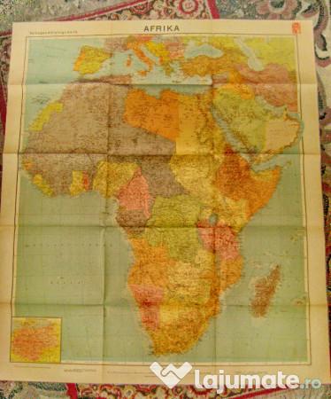 B73 Harta Mare Veche Africa Deutches Reich Germania 200 Lei