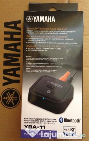 bluetooth wireless audio receiver yamaha yba 11 nou. Black Bedroom Furniture Sets. Home Design Ideas