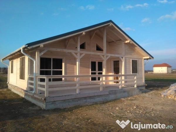 Construim Casa De Vacanta Din Lemn Masiv Grinda 12cm 16cmr 150 Eur Lajumate Ro