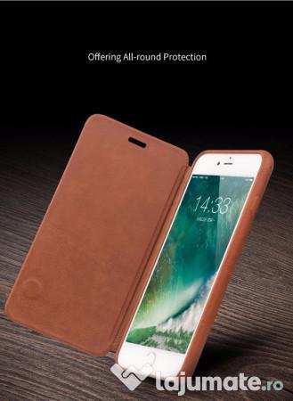 Husa piele naturala interior exterior qialino iphone 6 for Interior iphone 6