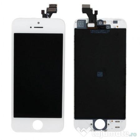 00e09bea9ae332 LCD Display Ecran cu Touchscreen iPhone 5 Alb (HQ AAA, 99 ron ...