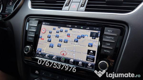Verwonderend Harta navigatie Golf 7, Passat B8, Octavia 3 - Romania 2019, 100 XG-44