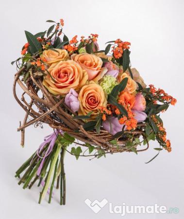 Aranjamente Florale Botez Nunti Buchet Mireasa 10 Ron Lajumatero