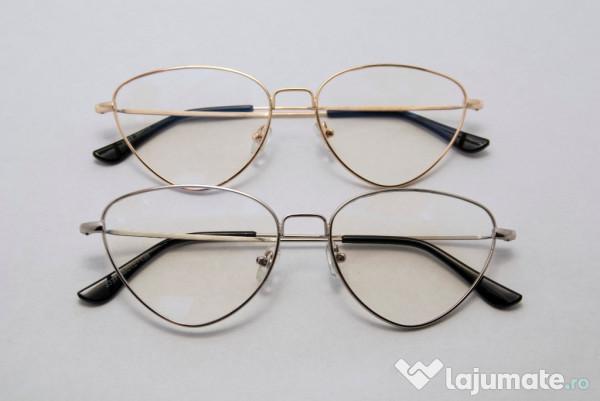 o noua sosire vânzare bună stiluri proaspete Rame Ochelari cu lentile fara dioptrii Cat Eye, 49 lei - Lajumate.ro